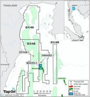Tap Oil - Mubadala's Kinaree-1 ST1