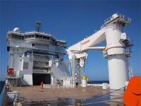 A 400-tonne MacGregor subsea crane