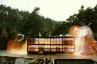 Explosion testing at Sotra