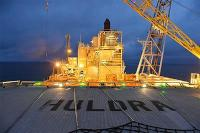 The Huldra platform in the North Sea