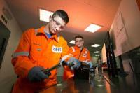 Men at work in Zilift's Aberdeen facility