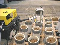 FTIR measures Effects Of Nitrification Inhibitor In Soil