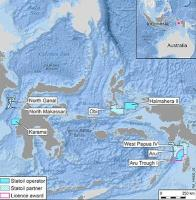 Statoil awarded new exploration licence offshore Indonesia
