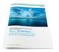 DNV GL research paper shows bright future for subsea processing