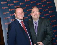 From Left to right: Xcite Media operations director; Darren Ross and Xcite Media director Gavin Esslemont