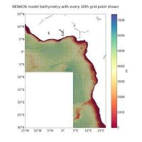 Mid-Atlantic Current Hindcast (MACH) data set