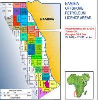 Pancontinental - Namibia licence EL 0037