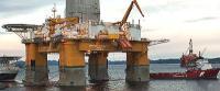 "The ""Deepsea Atlantic"" semi-submersible rig."