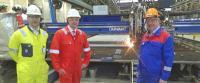 Work on the steel jacket for the Johan Sverdrup field's riser platform has started