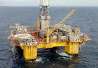 The Visund A platform in the North Sea
