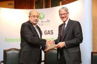 Egyptian Minister of Petroleum & Mineral Resources with Dana Gas CEO