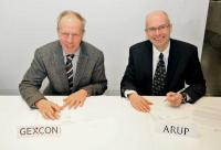 Kees van Wingerden (left) with Arup director David Gration