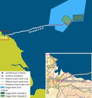 Dogger Bank Teesside A&B Map