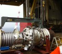 Routine turbine handling in offshore conditions