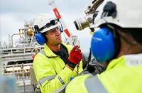 Maintenance work on the Norne FPSO