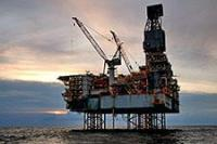 The Shah Deniz platform in the Caspian Sea-2