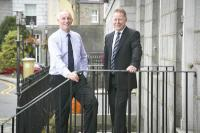 L-R Mark Clarke; chairman and Paul Radcliffe; managing director