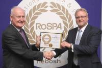 Gold Medal RoSPA Presentation to Andy Penman of CIS