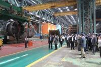 International delegates on-site at Atommash