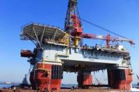 BT 4000 Semi-submersible drilling platform under construction