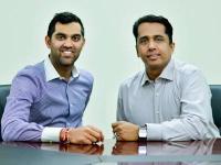 Sahil Gandhi (left) with Sharad Kumar (right)