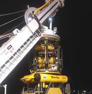 IKM Subsea Work class ROV; Merlin WR200