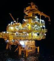 BD Gas Development Wellhead Platform