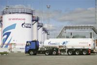 Gazprom Neft Omsk oil storage facility