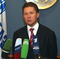 Alexey Miller - Gazprom Management Committee Chairman