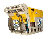 A close up of the new Schilling-HD ROV