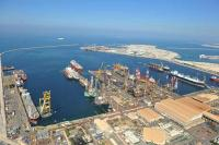 Drydocks World - 9 rigs aerial picture