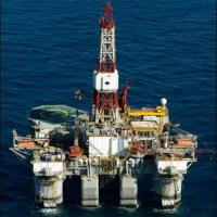 "Diamond Offshore ""Ocean America"" Semi-Submersible Drilling Rig"