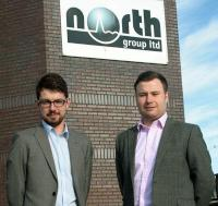 (from left to right) North Group's Ryan Neave and Gregg McMillan