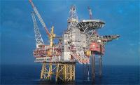 The Gudrun platform in the North Sea