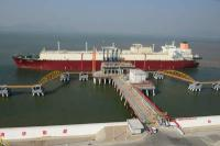 The Q-Flex LNG vessel Al-Gattara at the Zhuhai LNG terminal