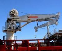 MacGregor knuckle-jib crane