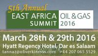 The East Africa Oil & Gas Summit 2016