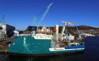 Acta Auriga SOV vessel at Ulstein Verft (photo: Benny Banen/Acta Marine)
