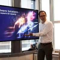 Petter Mathisen, AGR VP of Software Solutions