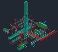 BCCK's standard 225 MMSCFD RSV plant