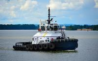Dr. Hank Kaplan - Cat Marine propulsion system (photo: Harley Marine Services)