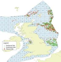 Map of the UKCS showing coverage of the digital well products supplied by CGG GeoConsulting to OGA