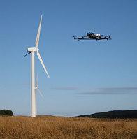 Cyberhawk - drone and turbine