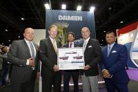 Damen contract signing