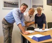 Damen - Skyssbåtservice - signing for Damen Stan Pontoon 4512