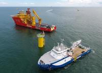 DeepOcean - Wind farm cable installation Edda Freya and Deep Helder