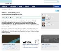DNV GL - Pipeline Evaluation Portal