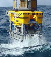 DOF Subsea ROV launch