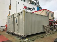 ELA Container Offshore - Living Quarters installed on board MV Fairplayer