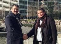 E&P Consulting's Ian Kennedy (left) and eDrilling's Morten Svendsen